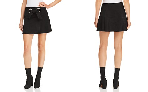 Parker Patty Suede Mini Skirt - Bloomingdale's_2