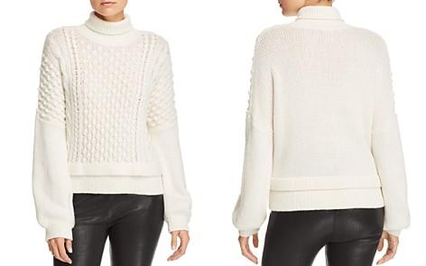 FRAME Popcorn-Stitch Turtleneck Sweater - Bloomingdale's_2