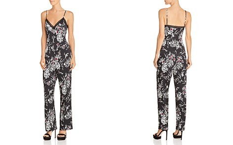 GUESS Sleeveless Floral-Print Jumpsuit - Bloomingdale's_2