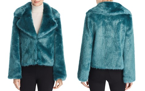 Unreal Fur Madam Butterfly Faux Fur Jacket - Bloomingdale's_2