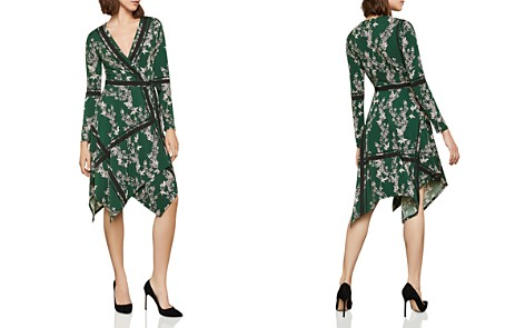 BCBGMAXAZRIA Isabella Handkerchief-Hem Wrap Dress - Bloomingdale's_2