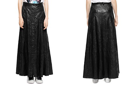 Zadig & Voltaire Jam Leather Maxi Skirt - Bloomingdale's_2