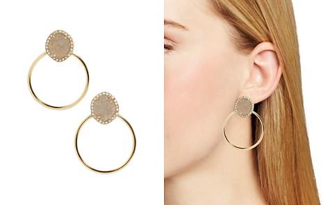 BAUBLEBAR Lutana Druzy Hoop Earrings - Bloomingdale's_2