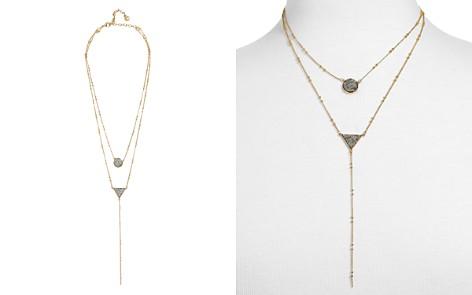 "BAUBLEBAR Kera Druzy Layered Lariat Necklace, 19"" - Bloomingdale's_2"