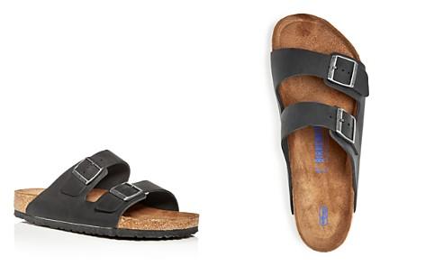Birkenstock Men's Arizona Nubuck Leather Slip-On Sandals - Bloomingdale's_2