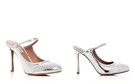 Tabitha Simmons Women's Alyce Patent Leather High-Heel Mules - Bloomingdale's_2
