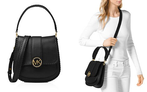 MICHAEL Michael Kors Lillie Medium Leather Crossbody Messenger Bag - Bloomingdale's_2
