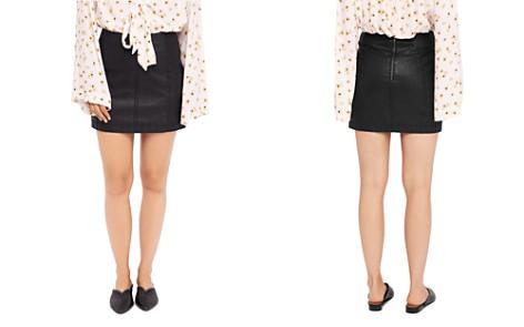 Free People Vegan-Leather Mini Skirt - Bloomingdale's_2