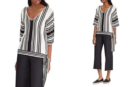 Lauren Ralph Lauren Striped Side-Tie Sweater - Bloomingdale's_2
