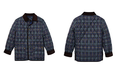 Polo Ralph Lauren Boys' Quilted Plaid Kempton Car Jacket - Big Kid - Bloomingdale's_2