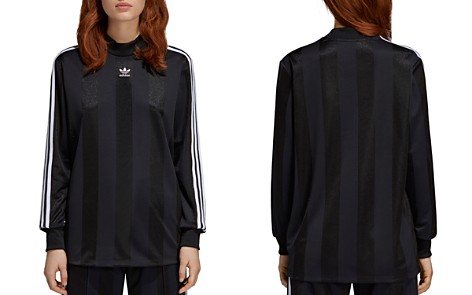 adidas Originals Metallic Striped Tee - Bloomingdale's_2