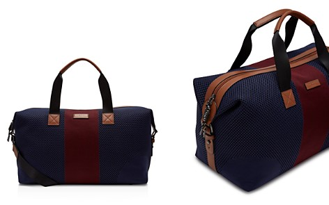 Ted Baker Trains Knitted Color-Block Duffel Bag - Bloomingdale's_2