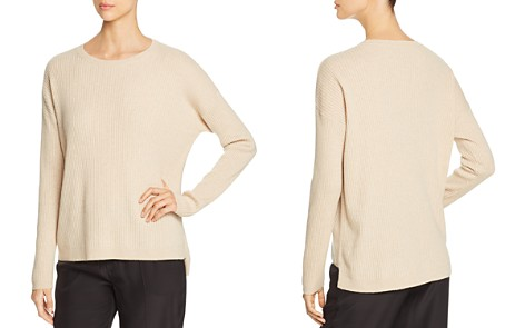 Eileen Fisher Ribbed Cashmere Sweater - Bloomingdale's_2