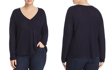 Eileen Fisher V-Neck Sweater - Bloomingdale's_2