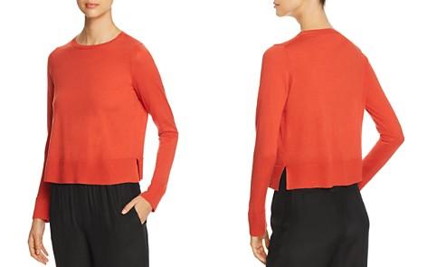 Eileen Fisher Merino Wool Cropped Sweater - Bloomingdale's_2