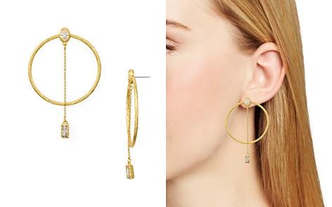 kate spade new york Loop & Linear Drop Earrings - Bloomingdale's_2