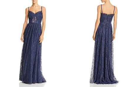 Tadashi Shoji Metallic Floral Lace Gown - Bloomingdale's_2