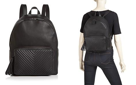 AQUA Chevron Medium Backpack - 100% Exclusive - Bloomingdale's_2