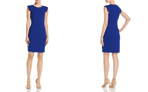 Eliza J Cap Sleeve Sheath Dress - Bloomingdale's_2