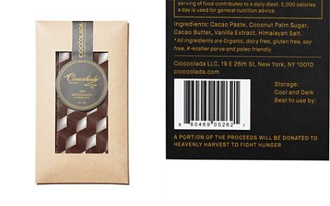 Cioccolada 72% Dark and Smooth Chocolate Bar - Bloomingdale's_2