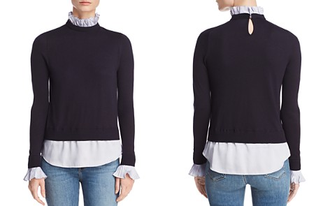 Ted Baker Kaarina Layered-Look Sweater - 100% Exclusive - Bloomingdale's_2