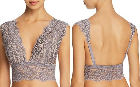 Cosabella Preta Curvy Long Lace Bralette - Bloomingdale's_2