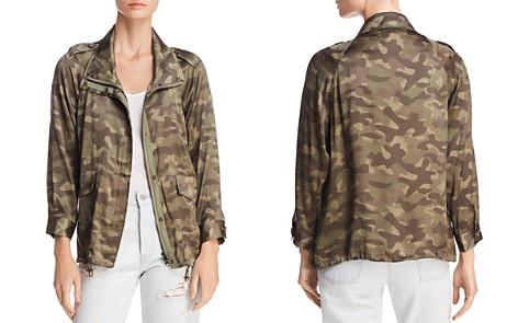 CAMI NYC Quinn Silk Camouflage Jacket - Bloomingdale's_2