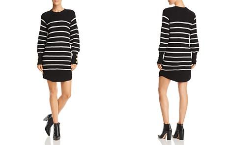 AQUA Striped Rib-Knit Sweater Dress - 100% Exclusive - Bloomingdale's_2
