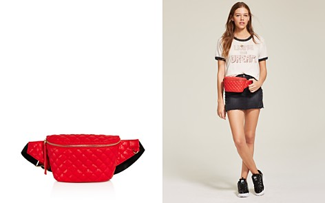 AQUA Medium Quilted Belt Bag - 100% Exclusive - Bloomingdale's_2