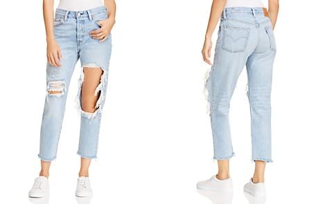 Levi's 501 Crop Straight Jeans in Bona Fide - Bloomingdale's_2