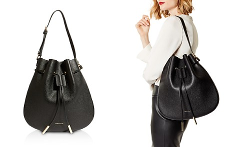 KAREN MILLEN Medium Leather Drawstring Bag - Bloomingdale's_2