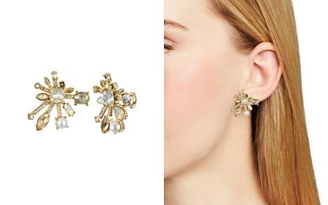 Badgley Mischka Starburst Stud Earrings - Bloomingdale's_2