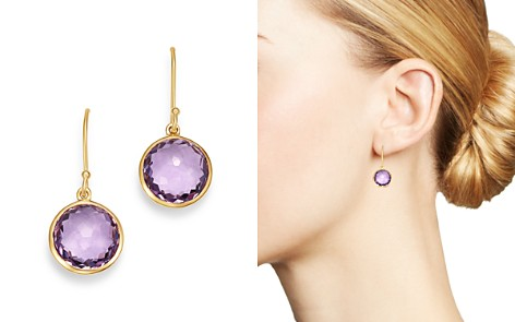 IPPOLITA 18K Yellow Gold Lollipop Amethyst Mini Drop Earrings - Bloomingdale's_2