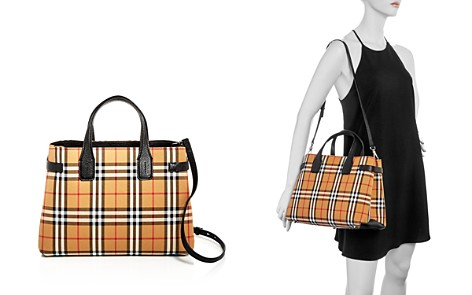 Burberry Vintage Check Medium Banner Bag - Bloomingdale's_2