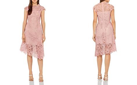 REISS Ivana Asymmetric Lace Dress - Bloomingdale's_2
