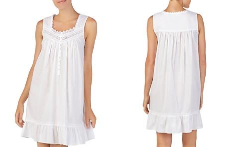 Eileen West Sleeveless Short Cotton Ballet Nightgown - Bloomingdale's_2