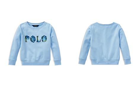 Polo Ralph Lauren Girls' Floral Polo Terry Sweatshirt - Little Kid - Bloomingdale's_2