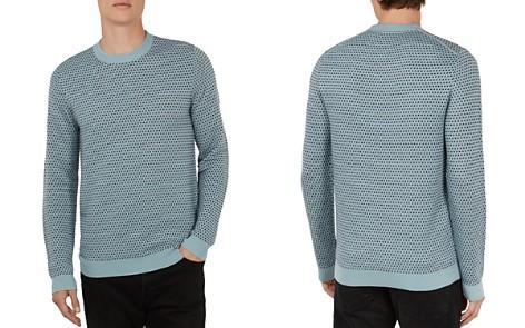Ted Baker Malttea Textured Crewneck Sweater - Bloomingdale's_2