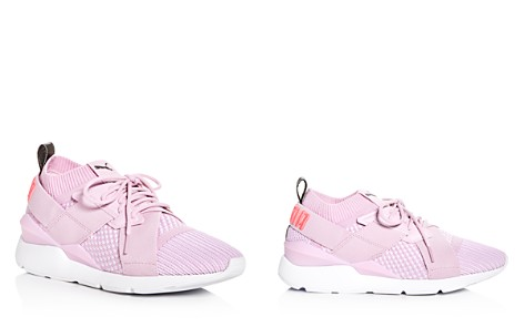 PUMA Women's Muse EvoKnit Lace Up Sneakers - Bloomingdale's_2