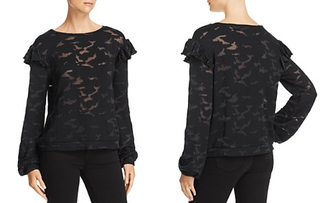Generation Love Oliver Camo Burnout Top - Bloomingdale's_2