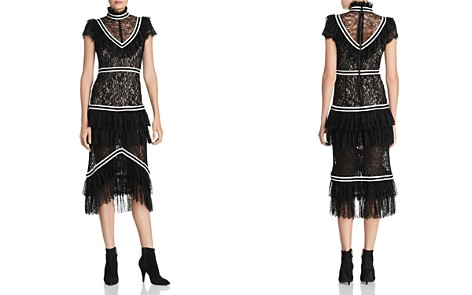 Alice + Olivia Annetta Tiered Ruffled Lace Dress - Bloomingdale's_2