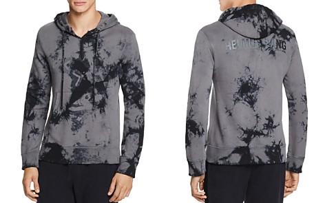 Helmut Lang Back-Dart Tie-Dyed Graphic Hooded Sweatshirt - Bloomingdale's_2