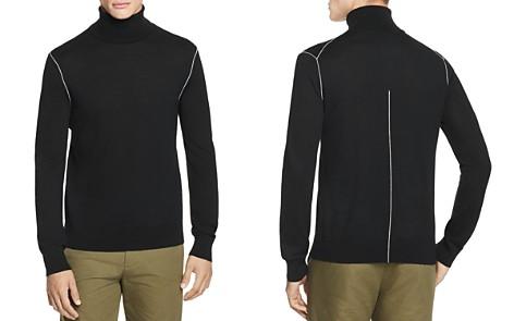 Helmut Lang Contrast-Seam Turtleneck Sweater - Bloomingdale's_2