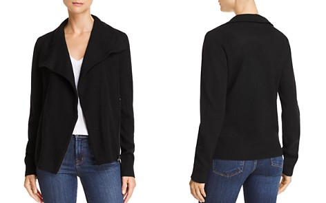 C by Bloomingdale's Cashmere Moto Cardigan - 100% Exclusive_2