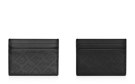 Burberry Perforated Logo Leather Card Case - Bloomingdale's_2