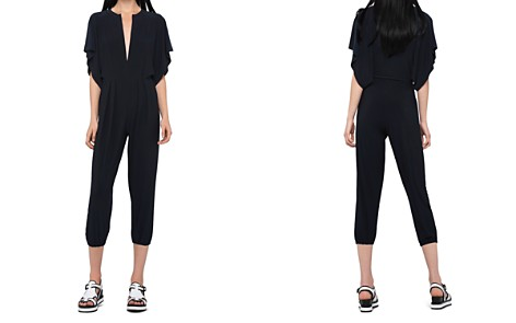Norma Kamali Rectangular Jogger Jumpsuit Swim Cover-Up - Bloomingdale's_2