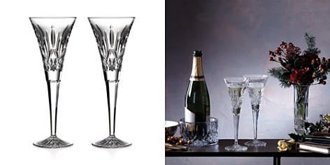 Waterford Lismore Toasting Flute, Pair - Bloomingdale's_2