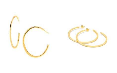 Gorjana Arc Large Hoop Earrings - Bloomingdale's_2