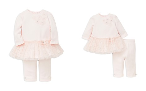 Little Me Girls' Shimmer Tutu Top & Leggings Set - Baby - Bloomingdale's_2