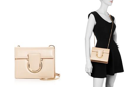 Salvatore Ferragamo Thalia Small Leather Convertible Shoulder Bag - Bloomingdale's_2